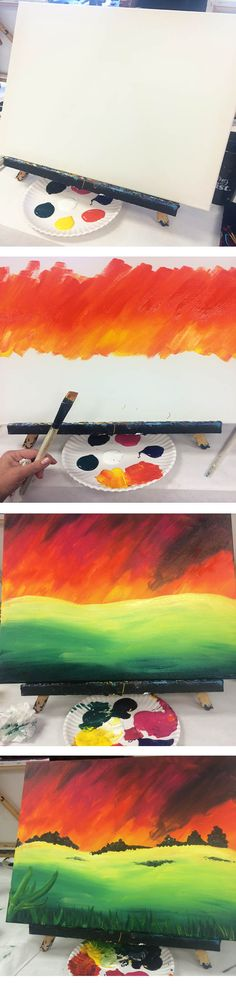 Painting with a Twist - step by step painting party