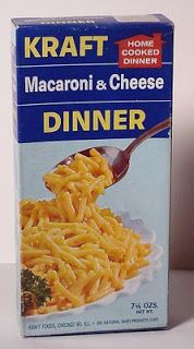 Kraft Macaroni & Cheese box from the 1960's We always called this ...