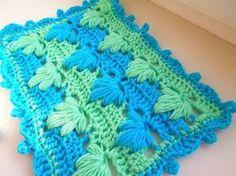 Как связать детский плед крючком? How to crochet plaid.