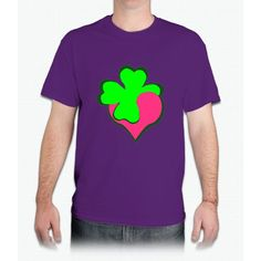 Shamrock Clover St Patrick's Day- saint patrick day shirts - Mens T-Shirt