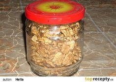Ořechy zavařené v mikrovnce