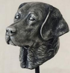 For the pet lover who has everything - a sculpted bust of their beloved.