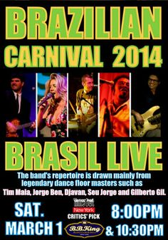 Celebrate Carnival with 2-for-1 Tickets to Brazilian Carnival Party with Brasil Live, from $15.00! | NYC - Pavé Life