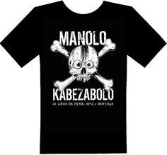 """#CAMISETA #MUSICA #PUNK #ANIVERSARIO #CROWDFUNDING - Manolo Kabezabolo celebra este 2014 sus treinta años de trayectoria. Para ello, junto a su actual banda, Los Ke No Dan Pie Kon Bolo, está preparando un disco muy especial con temas nuevos y alguna que otra sorpresa bajo el título de """"Si Todavía Te Kedan Dientes, Es Ke No Estuviste Ahí"""". camiseta t-shirt blanco negro black white Crowdfunding verkami…"""