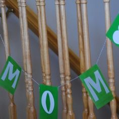 Simple Mother's Day Pennant Banner!