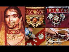 How to make Padmavati Jewelry at Home I DIY Chocker Silk Thread Earrings, Paper Earrings, Thread Jewellery, Fabric Jewelry, Jewellery Diy, Diy Chockers, Diy Necklace, Chocker Necklace, Necklaces