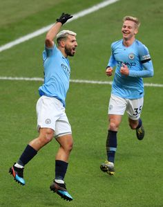 Sergio Aguero of Manchester City celebrates after scoring his team's second goal during the Premier League match between Manchester City and Chelsea FC at Etihad Stadium on February 2019 in. Get premium, high resolution news photos at Getty Images Manchester United Kingdom, Manchester England, Manchester City, Football Soccer, Football Players, Sergio Aguero, Zen, Kun Aguero, Premier League Matches