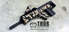 KelTec RFB in FDE Cerakote  #KelTec #RFB #308 #DarkEarth #bullpup #guns #tactical