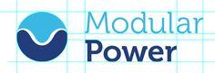 Modular Power Logo Redesign by Thomas Palivos, via Behance