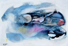 Afbeelding  WERWIN - Blau du gibst mir Meer Antonio Mora, Artwork, Blue, Work Of Art