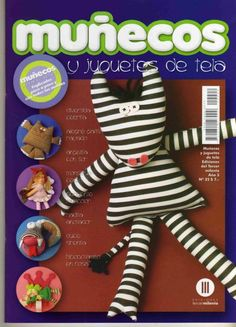 Manualidades EthernalDark: Muñecos y juguetes de tela 3-22 Animal Magazines, Sewing Magazines, Baby Box, Love Sewing, Soft Dolls, Crafty Projects, Softies, Handmade Toys, Doll Toys