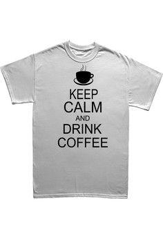 Ama Wood เสื้อยืดพิมพ์ลาย Drink Coffee | ZALORA THAILAND saved by #ShoppingIS