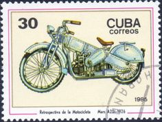 international postage stamps | International Motorcycle Postage Stamps