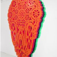 Layered Color Cutouts artistSusanna Starr
