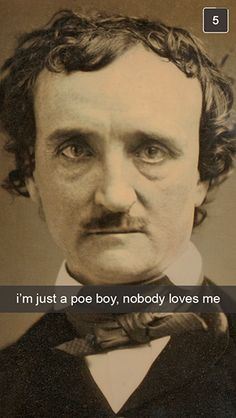 If Famous Writers Had Snapchat