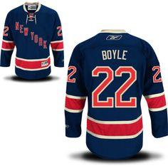 Dan Boyle New York Rangers Alternate - Third Jersey - Reebok Men s Premier NY  Rangers Alternate 94d8bd9f6