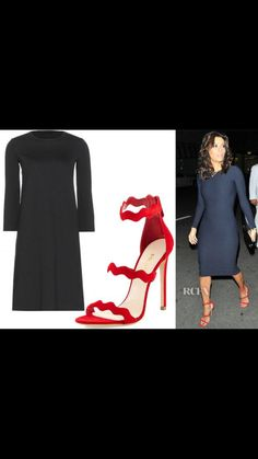 Vestido: The Row Sandalias: Prada