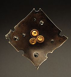 Andy Cooperman | Bronze, sterling, 14k rose, 18k and 22k yellow gold. 2.25W. photo: Doug Yaple  Price: $ 2300