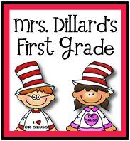 Mrs. Dillard's First Grade
