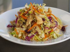 Asian Slaw Recipe (with no MSG, processed foods or ramen noodles!)