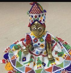 Crochet Leaf Patterns, Diy Embroidery Patterns, Hand Embroidery Tutorial, Beaded Embroidery, Embroidery Dress, Kutch Work Designs, Bal Gopal, Laddu Gopal, Baby Clip Art