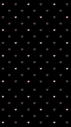 Cute Black Wallpaper, Cute Patterns Wallpaper, Phone Wallpaper Images, Black Aesthetic Wallpaper, Flower Phone Wallpaper, Wallpaper Space, Iphone Background Wallpaper, Emoji Wallpaper, Heart Wallpaper