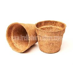 www.trellishorticulture.com/planters.php - Manufacturers, Exporters & Suppliers of Coir Plant Pots in India. Available in versatile product design the coir pots are made from 100% coirfiber with twelve months durability.