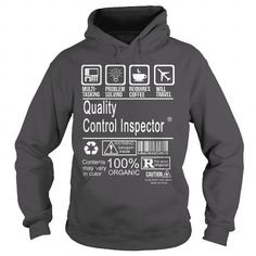 QUALITY CONTROL INSPECTOR CERTIFIED JOB TITLE T Shirts, Hoodie