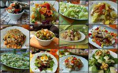 Raccolta+di+insalate+e+piatti+freddi