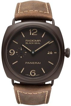 Radiomir Composite Black Seal 3 Days Automatic - 45mm PAM00505 - Collection Radiomir - Officine Panerai Watches