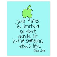 Your time is limited so don't waste it living someone else's life. -Steve Jobs We appreciate you! Moore-Cortner Funeral Home Winchester, Tn www.moorecortner.com