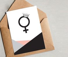 Feminist Art, Feminism, Activism, Wall Art, Graphic Design, Minimalist Design, Geometric Design, modern wall art