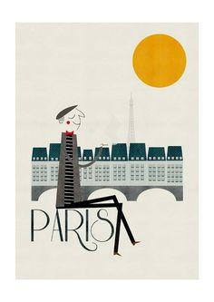 Paris by Blanca Gomez