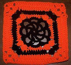 Dayna's Crochet - Free Patterns: Spider Web Square