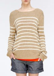 Striped Sweater - Vince.