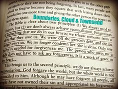 AWESOME biblical explanation!  Forgiveness can always be achieved, reconciliation might not be...