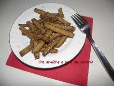 Seitan alla piastra con sesamo e salsa di soya