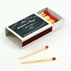 "Cajas de cerillas para bodas modelo ""Standard"". Boda de Cristina y Hugo. Letter Board, Lettering, Model, Match Boxes, Natural Wood, Adhesive, Weddings, Drawing Letters, Brush Lettering"