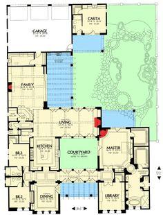 House plans attached casita