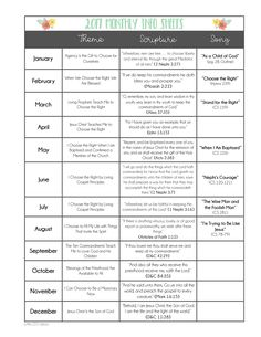 2017 LDS Primary Info Sheets