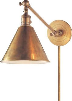 Brass Sconce « And George « antiques, custom furniture, apothecary, clothes, art, accessories, stationary, interior design in Charlottesville, VA
