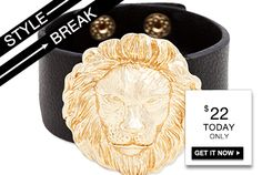 STYLE BREAK! Get the Layla Cuff for $22. Today only!