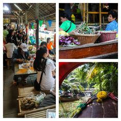 A visit to Klong Lat Mayom gives you the feel of an authentic Bangkok floating markets favoured by the locals, and less known by the tourists.