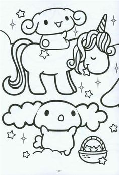 Kawaii Coloring Pages Coloringtop Com Colouring Coloring Pages
