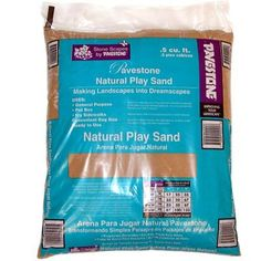 All-Purpose Play Sand is suitable for new construction and the renovation of paver applications. Ideal for children's sandboxes.