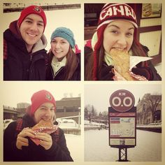 Good times on the Rideau Canal Skateway (with BeaverTails pastries, of course!) Instagram photo by @m1488ily (Emily Farrell)