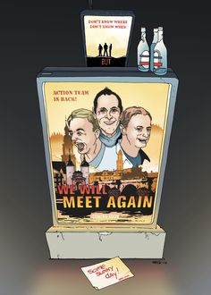 We will meet again. Comic, Sunny Days, Behance, Meet, Baseball Cards, Storytelling, The Last Song, Pictures, Comic Strips