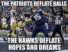 Patriots v. Seahawks