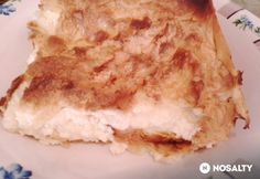 Túrós-fetás burek Lasagna, Feta, Pie, Ethnic Recipes, Finger, Torte, Cake, Fruit Cakes, Fingers
