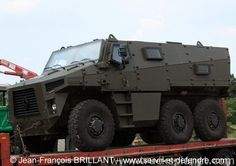Photo of a new VBMR project armored vehicle, shooted in France